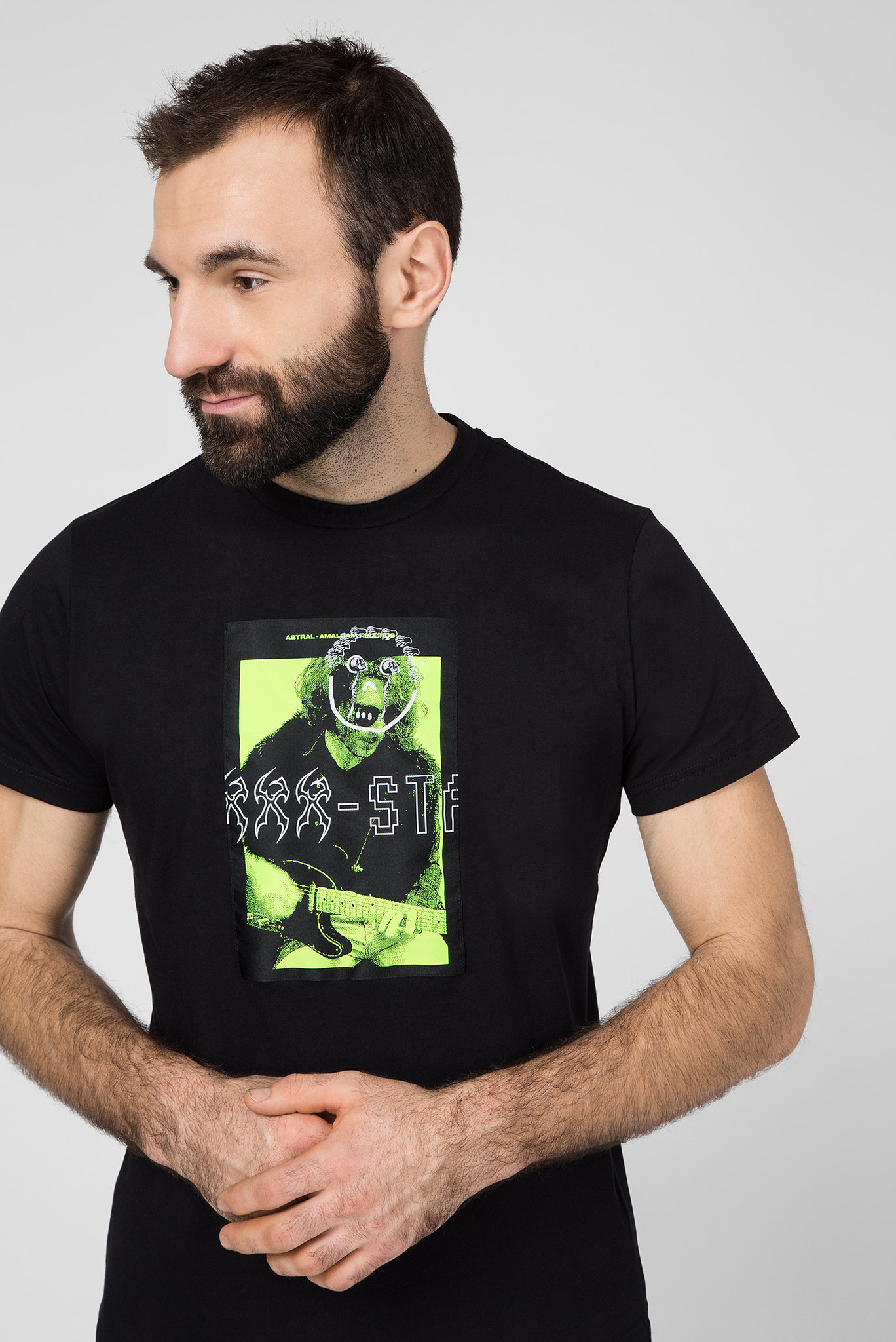 Мужская черная футболка T-DIEGO-J1 Diesel