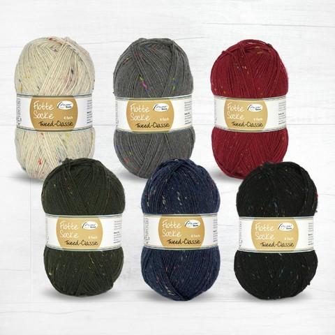 Rellana Flotte Socke Tweed Classic 6f 7084