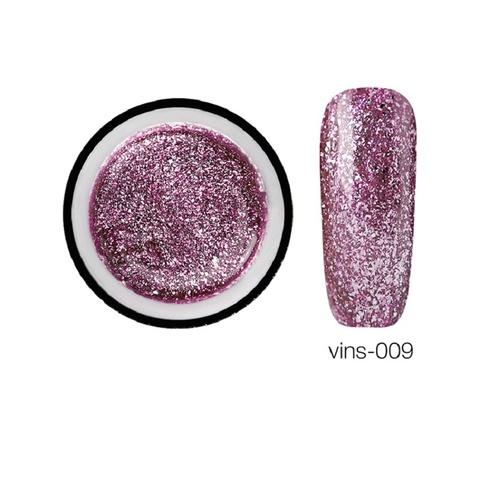 Гелевая краска Vins с блестками 09, 5 мл.