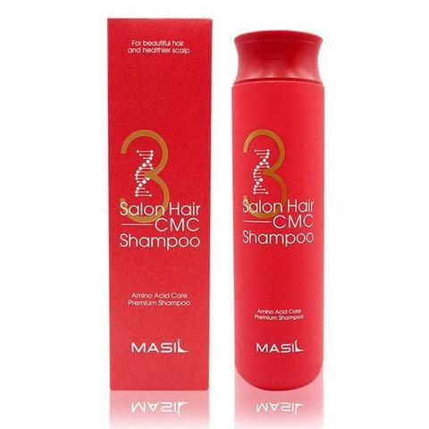 Восстанавливающий шампунь с керамидами Masil  3 Salon Hair CMC Shampoo, 300 мл