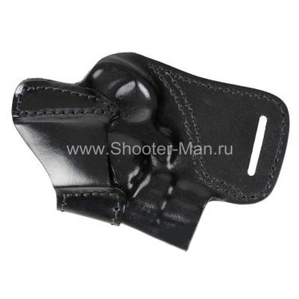 Кобура поясная для револьвера Taurus LOM-13 ( модель № 10 ) Стич Профи
