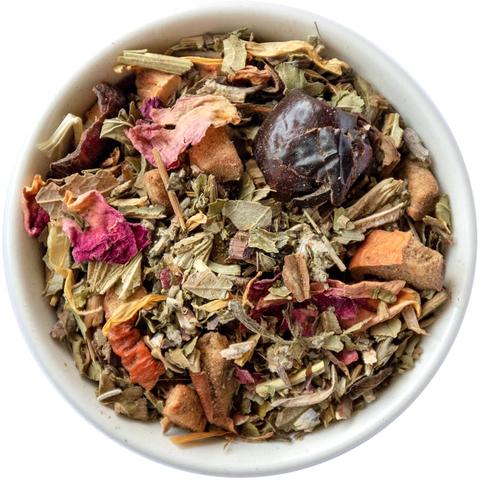 Травяной чай с мелиссой и шалфеем