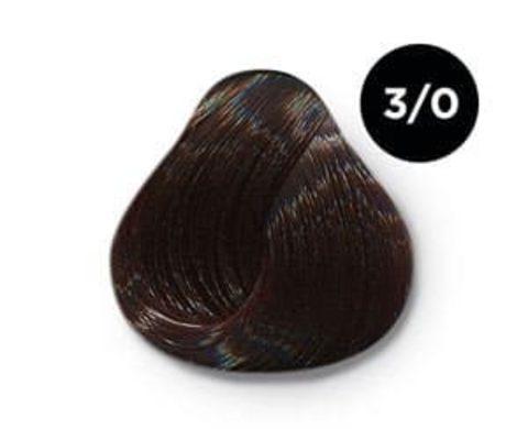 Ollin Silk Touch Безаммиачный стойкий краситель 3/0, 60 мл