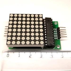 Матрица светодиодная LED 8х8 (с драйвером)