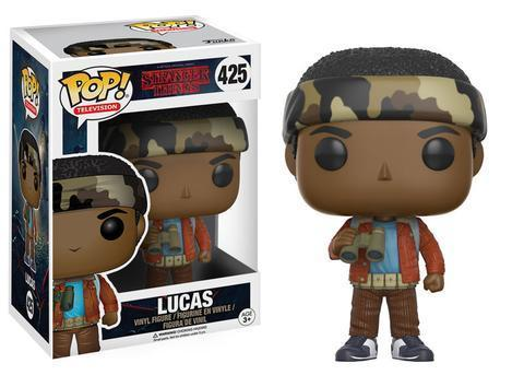Фигурка Funko POP! Vinyl: Stranger Things: Lucas w/ Binoculars 13324