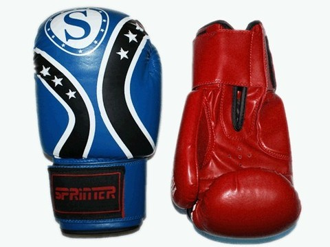 Перчатки бокс SPRINTER FIGHT STAR . Размер-вес 14