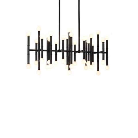 Потолочный светильник копия Meurice by Robert Abbey (черный, W96)