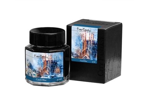 Чернила во флаконе Pierre Cardin  (PC332-S4) 30 мл синие