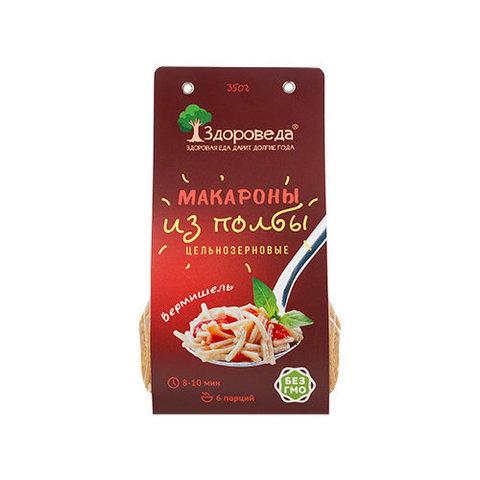Здороведа макароны ц/з из полбы Вермишель 350 г