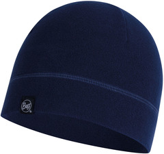 Флисовая шапка Buff Hat Polar Solid Night Blue