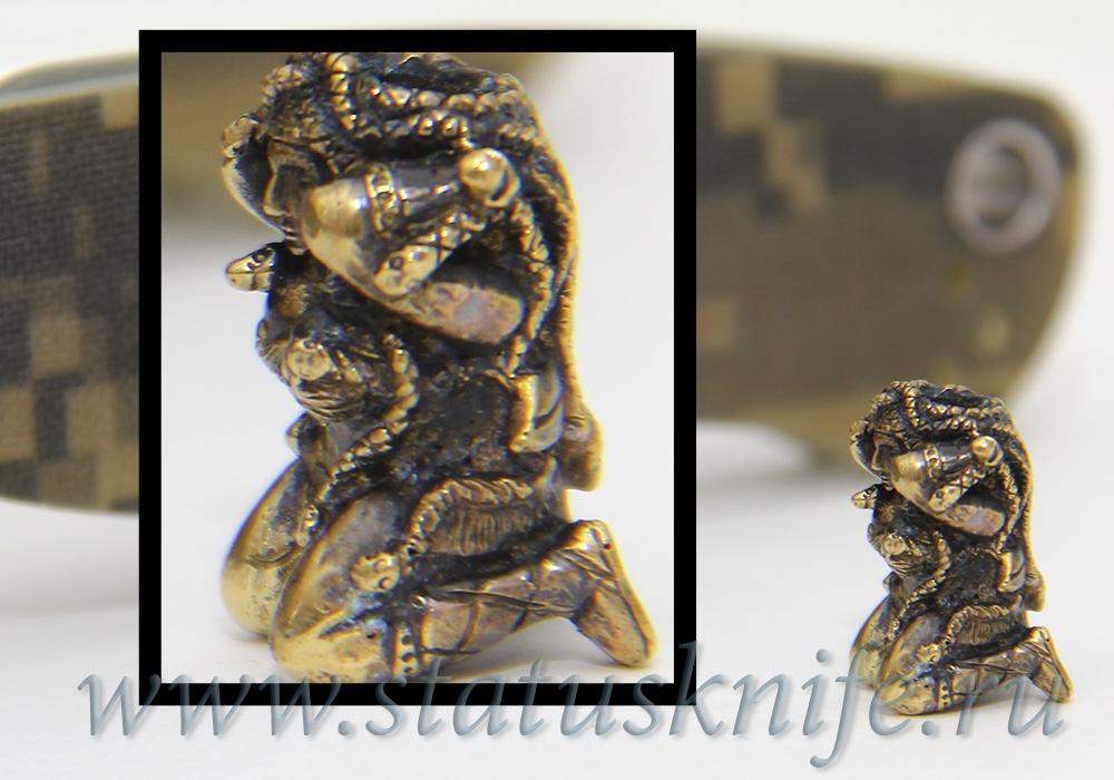 Темлячная бусина Медуза Горгона - фотография