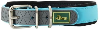 Ошейники Ошейник для собак Hunter Convenience Comfort 60 (47-55 см)/2,5 см биотановый с мягкой горловиной бирюзовый 63111.jpg