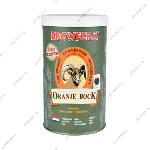 Солодовый экстракт Brewferm ORANJE BOCK 1,5 кг