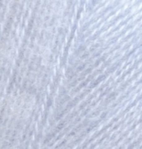 Пряжа Angora real 40 Серо-голубой 51 Alize.