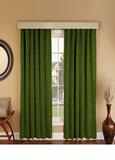 Suede (зелень). Готовая штора - имитация замши