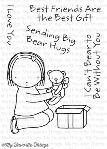 Набор штампов Big  Bear Hugs от MFT