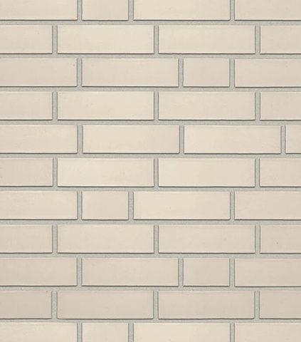 Roben - Oslo, perlweiss, NF14, 240x14x71, гладкая (glatt) - Клинкерная плитка для фасада и внутренней отделки