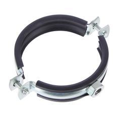 Хомут для воздуховода с резиновым профилем d 160 мм