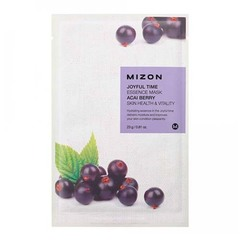 Mizon Joyful Time Essence Mask Acai Berry - Тканевая маска для лица с экстрактом ягод асаи
