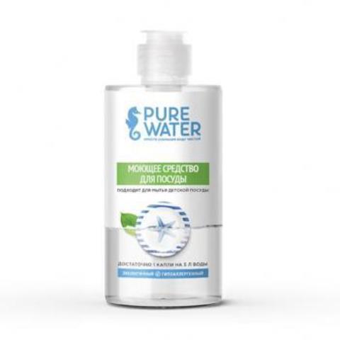 Моющее средство для посуды гипоаллергенное | 450 мл | Pure Water