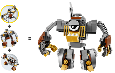 LEGO Mixels: Гокс 41536 — Gox — Лего Миксели