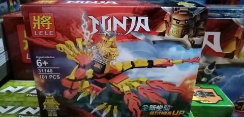 Конструктор Ниндзяго,LELE31140,101дет,золотой самурай