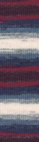 Купить Пряжа Alize Lanagold batik Код цвета 2978 | Интернет-магазин пряжи «Пряха»