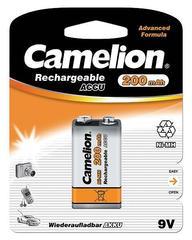 Аккумуляторы Camelion Ni-MH, 6F22 (Крона) 200 mAh
