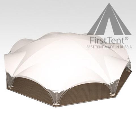 Арочный шатер октагональ 26х24