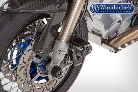 Комплект доп.света Micro Flooter на суппорты  BMW R1200GS LC - черный