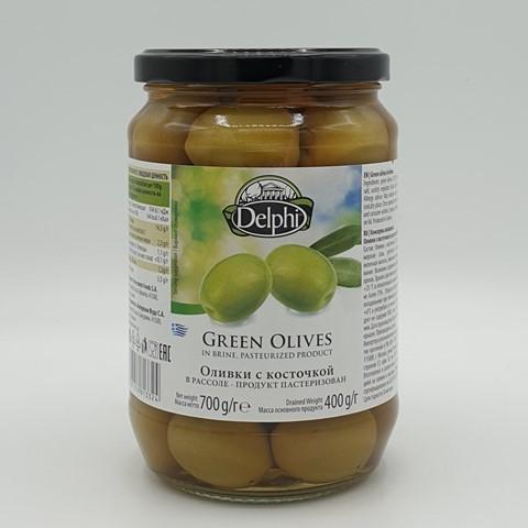 Оливки с косточкой в рассоле DELPHI