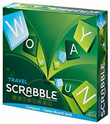 Scrabble Travel Game