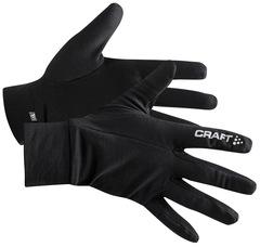 Флисовые Перчатки для бега Craft Thermal Black