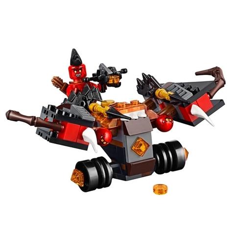 LEGO Nexo Knights: Шаровая ракета 70318 — The Glob Lobber — Лего Нексо Рыцари