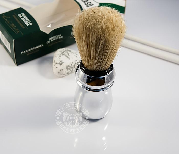 RAZ400102 Классический помазок для бритья «Proraso», щетина кабана фото 03