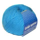 Пряжа Lana Gatto Supersoft 5283 голубой
