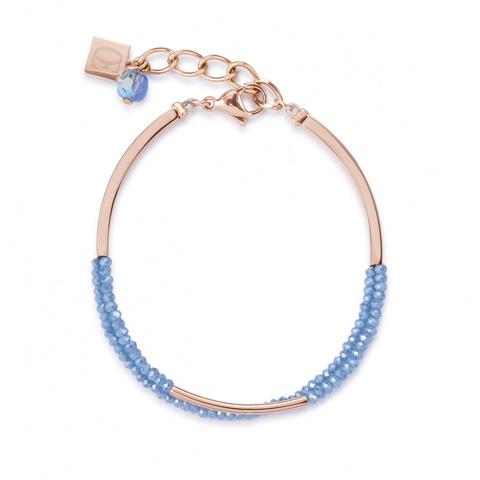 Браслет Coeur de Lion 4960/30-0720 цвет голубой