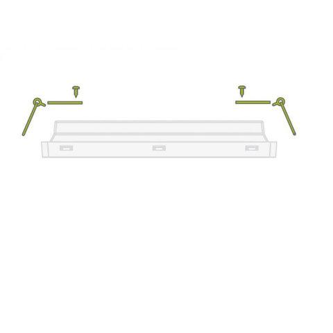 Комплект для встраиваемого монтажа светового указателя серии Vella LED eco SO IP65 Intelight