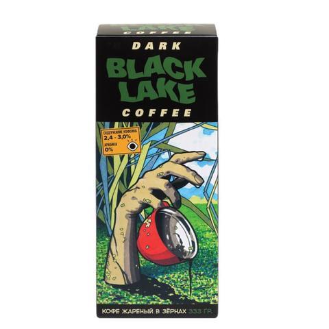 Подарочный набор Черное озеро/BLACK LAKE. Выпуск #1 Кофеин. 0/100 (кофе в зернах 333 гр, комикс, открытка, магнит, бокс)