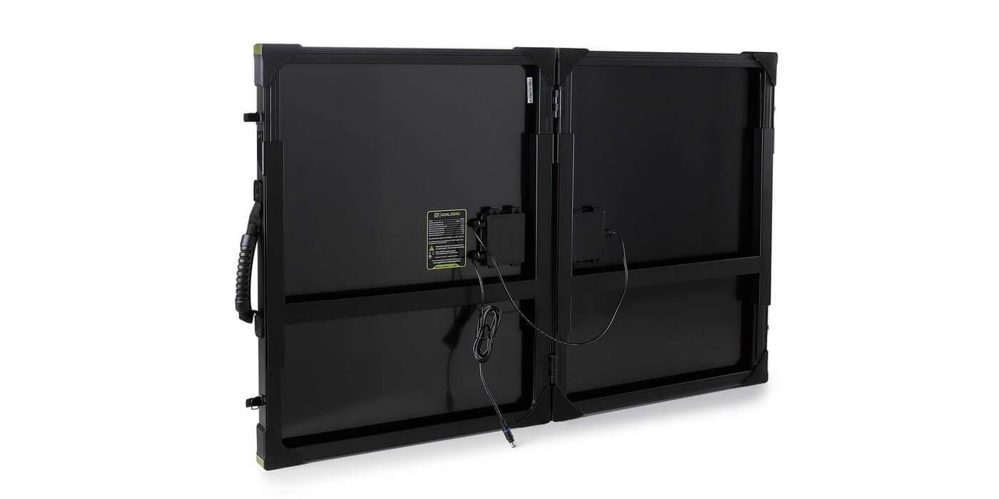 Солнечная панель Goal Zero Boulder 100 Briefcase вид сзади
