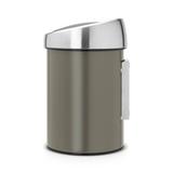 Мусорный бак Touch Bin (3 л), артикул 364464, производитель - Brabantia, фото 2