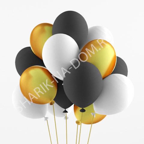 Облако из шаров Облако из белых-черных-золотых шаров Облоко_из_белых__чёрных_и_золотых_шаров.jpg