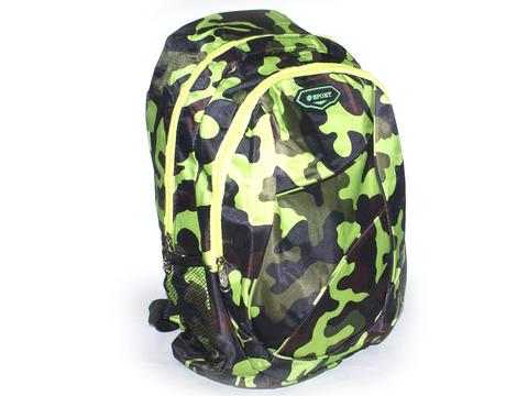 Рюкзак. Размер 44х32х12 см. Основное отделение, накладной карман на молнии, 2 боковый накладных кармана-сетки. Легкий и прочный полиэстер. Рюкзак не промокает. 2105