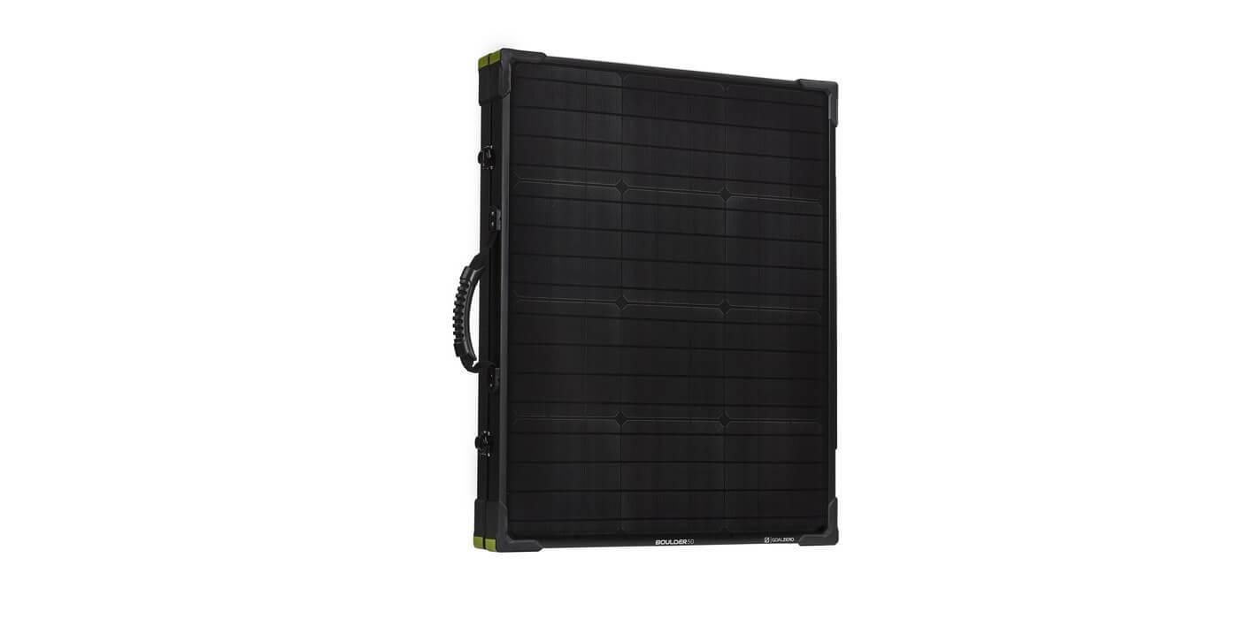 Солнечная панель Goal Zero Boulder 100 Briefcase в сложенном виде