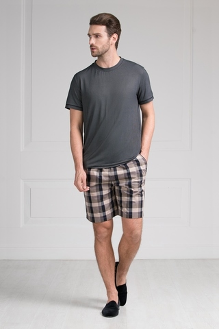 Пижама мужская с шортами  51657 Laete
