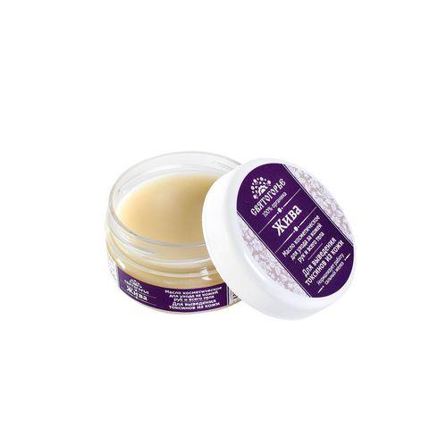 Косметическое масло для рук и всего тела ЖИВА Для выведения токсинов из кожи 60±5 г ТМ Святогорье