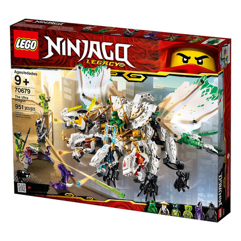 LEGO Ninjago: Ультра дракон 70679 — The Ultra Dragon — Лего Ниндзяго