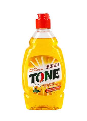 Sellwin Pro  Clean Tone Гель для мытья посуды Апельсин и зеленый чай 450мл