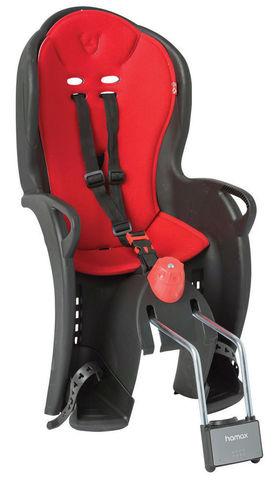 Картинка велокресло Hamax Sleepy Black/Red
