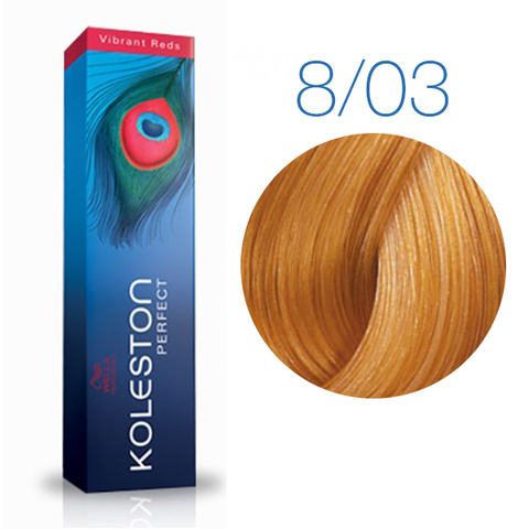 Wella Professional KOLESTON PERFECT 8/03 (Янтарь) - Краска для волос